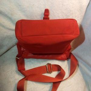 Tory Burch Bags - Tory Burch tangerine nylon/leather crossbody